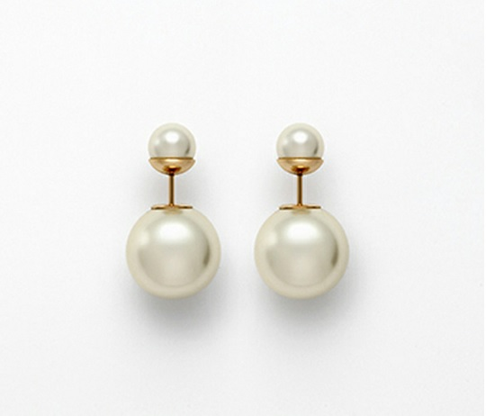 double pearl earrings5