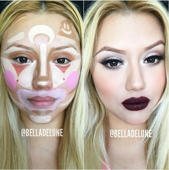 clowncontouring